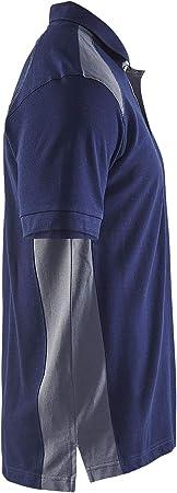X-Large Blaklader 332410509499XL Polo-Shirt Grey//Black
