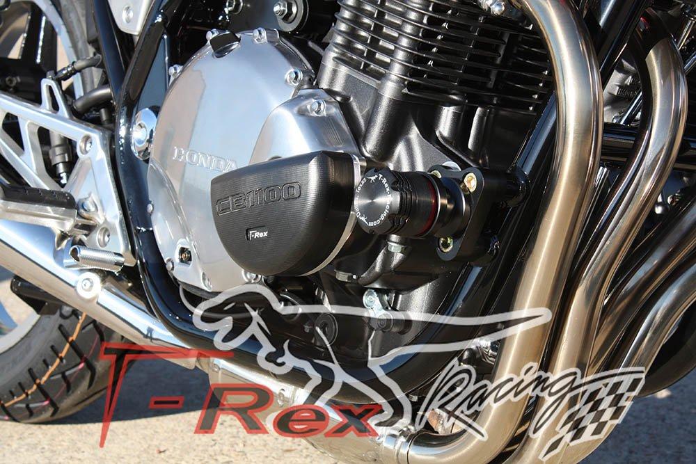 ON Honda CB1100 Deluxe No Cut Frame Sliders T-Rex Racing 2013