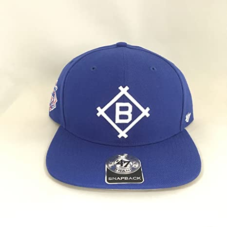 d561d9ff30d Image Unavailable. Image not available for. Color  Los Angeles Dodgers  Cooperstown Snapback Cap 47 Brand ...