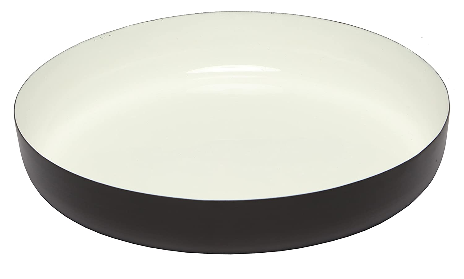 6-inch Round Platter Color Pack of 12 724190540138 Melange Home Decor Modern Collection Gray