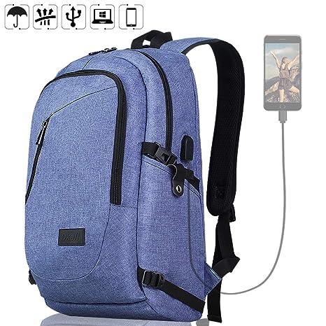 a3fcf53a663b Amazon.com: Travel Laptop Backpack for Women & Men Slim Business ...