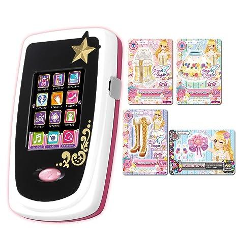 Amazon Com Bandai Aikatsu Phone Smart Card Japan Anime Toys Games