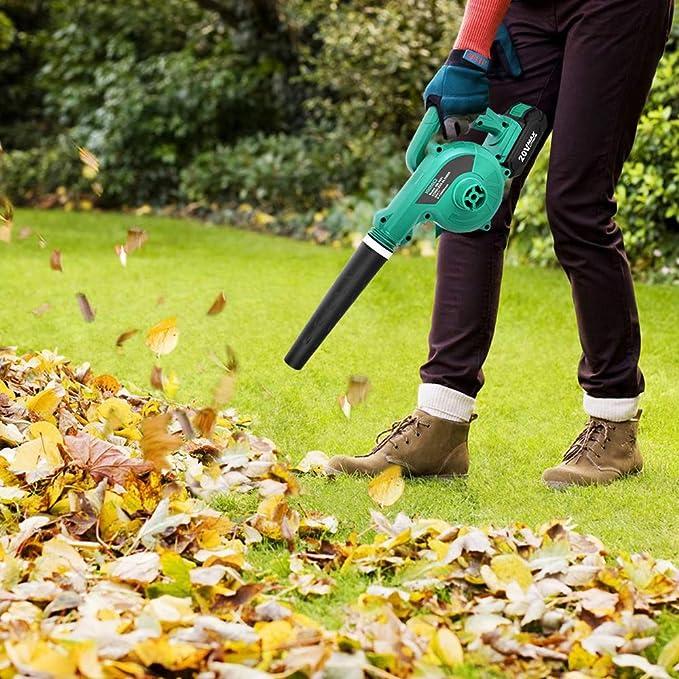 Amazon.com: Soplador de hojas inalámbrico – KIMO 20 V ...
