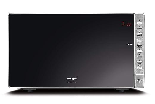 Caso HCMG 25 HCMG25-Microondas, 900 W, 25 litros, Negro, Acero ...