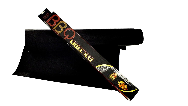 Doble pack Barbacoa Alfombras, 33 x 40 cm fibra de vidrio antiadherentes Barbacoa Matte para todos los tipos de parrilla, Carbón, de gas y barbacoa ...