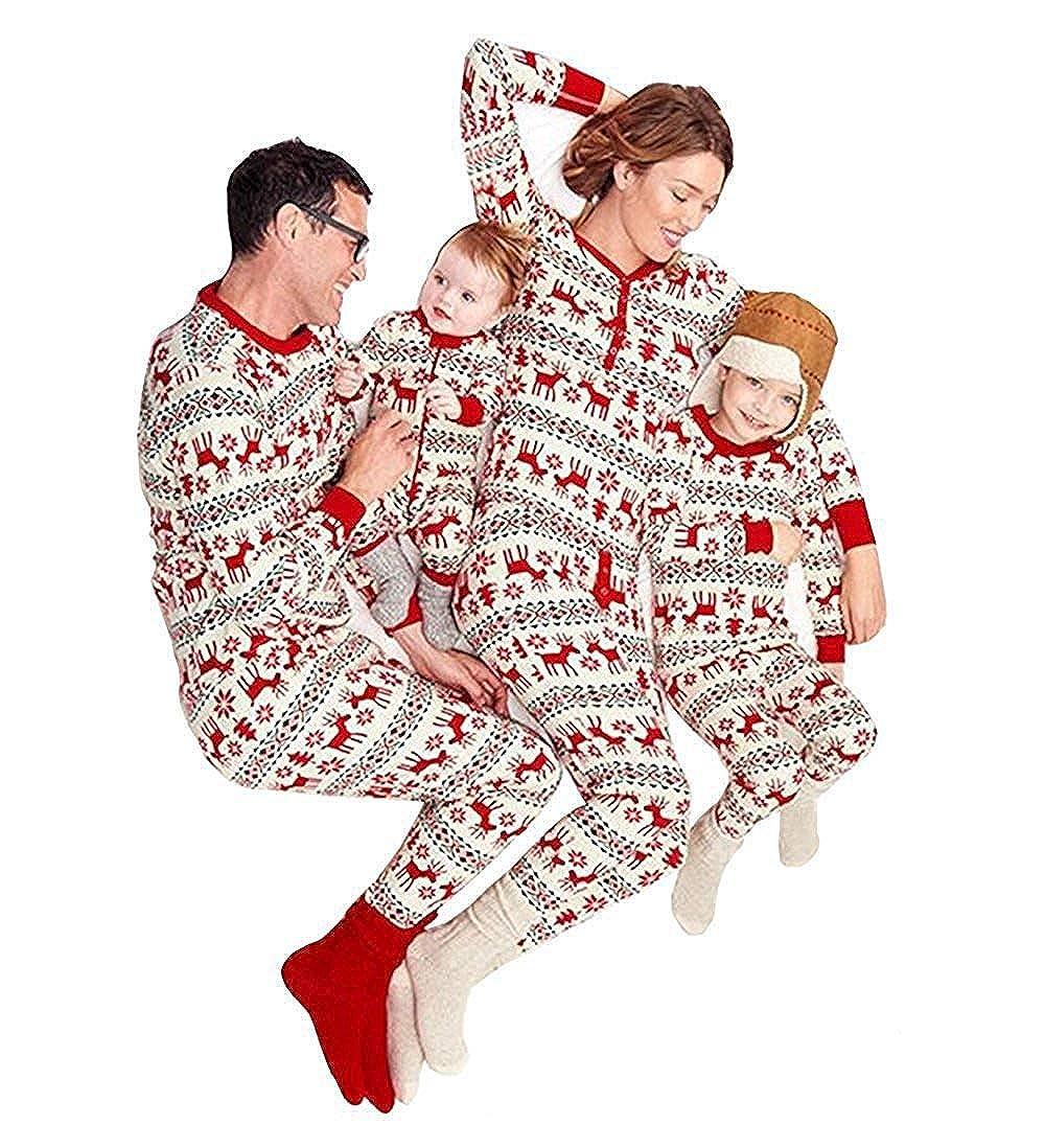 ba6827b8492 Matching Family Pjs Christmas Entire Family Jammies Cotton Pajamas Sets  Best Kids Sleepwear Xmas
