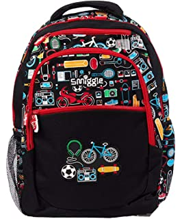 00af1dd4e77 Smiggle Backpack from Our Deja Vu Collection is Perfect for School, Sport    Other Activities