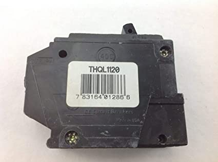ROA GE THQL11 - Interruptor de Circuito (1 Polo, 1/1 V, GF ...