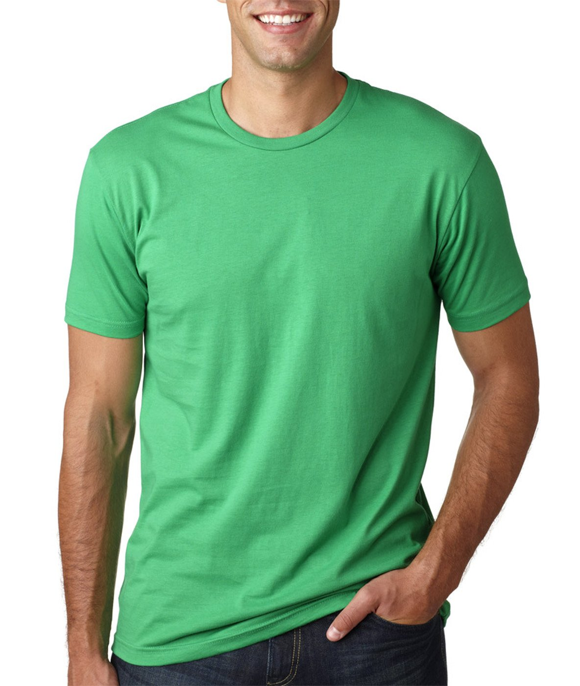 Next Level Mens Premium Fitted Short-Sleeve Crew T-Shirt 3600