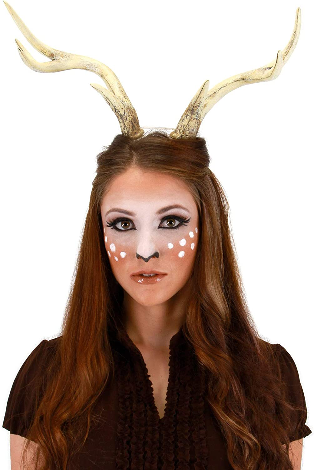 Amazon Com Deer Faun Cosplay Costume Antlers For Adults Women And Men Clothing