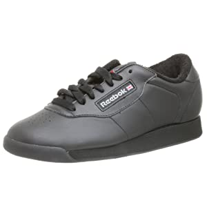 Reebok Women's Princess Aerobics Shoe, Black, 8 M