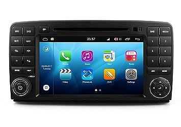 RoverOne Android Sistema Doble DIN en Dash Coche GPS Navi Navegación para Mercedes-Benz Clase