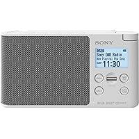 Sony DAB+ Radio, White (XDRS41DW)