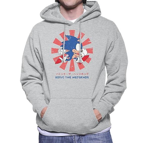 Cloud City 7 Sonic The Hedgehog Retro Japanese Mens Hooded