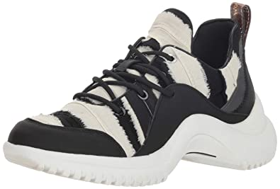 e7fb8cf1d Sam Edelman Women s Meena Sneaker Black Frayed Fabric 5 ...
