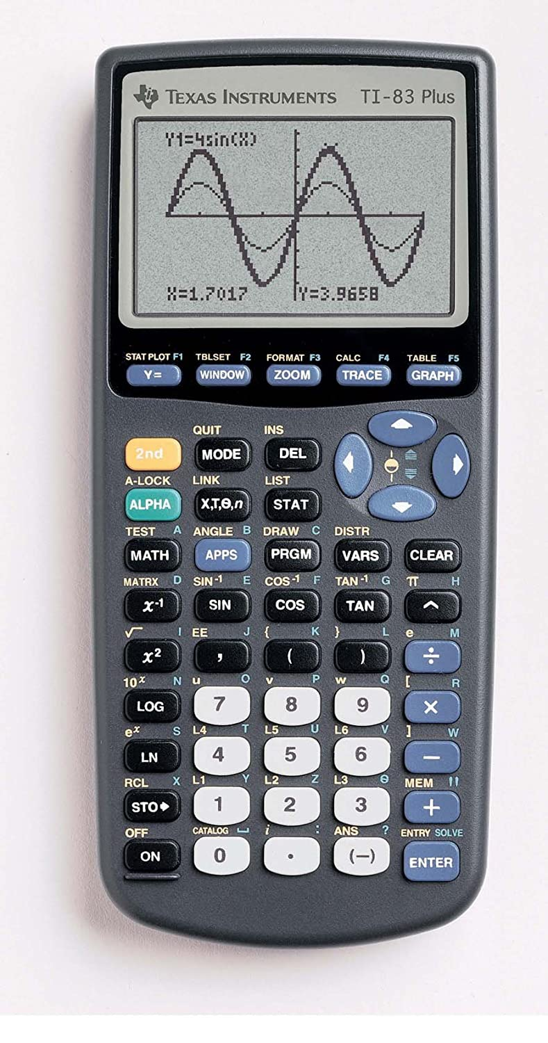 com texas instruments ti plus graphing calculator com texas instruments ti 83 plus graphing calculator texas instruments incorporated office products