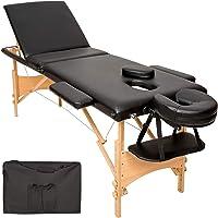 TecTake Table de massage Table de massage pliante 3 zones banque bourse-disponible en différentes couleurs