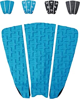 Premium Surfboard Traction Pad [Choose Color] 3 Piece, Full Size