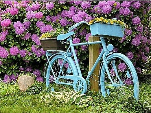Puzzle Clásico De Madera Adulto 1000 Piezas Bicicleta Decorativa ...