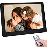 Tenswall 10 Inch Digital Photo Frame Upgraded HD1280x800,16:10 Digital Picture Frame...