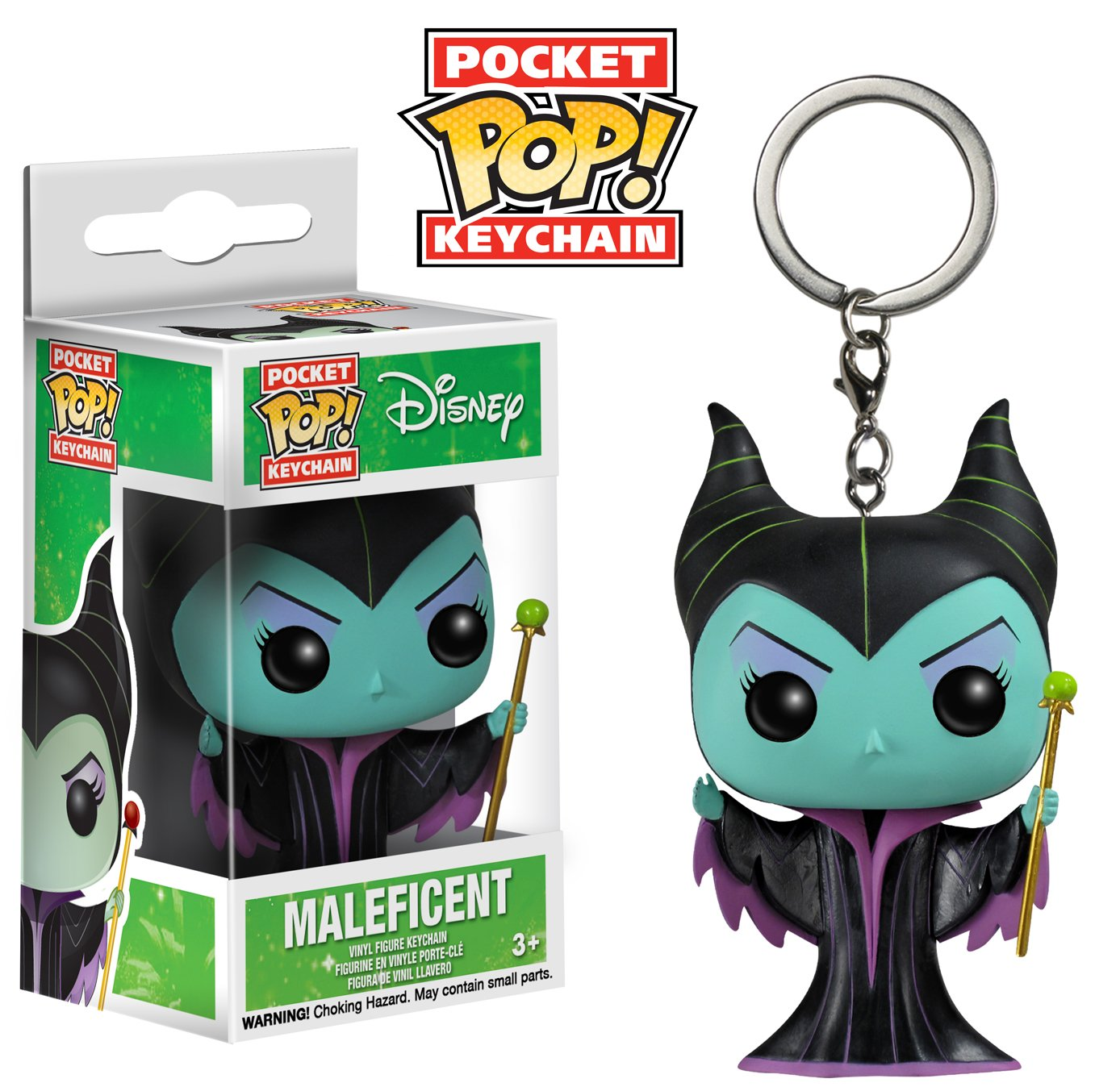 Funko POP Keychain: Disney - Maleficent (Classic) Action Figure