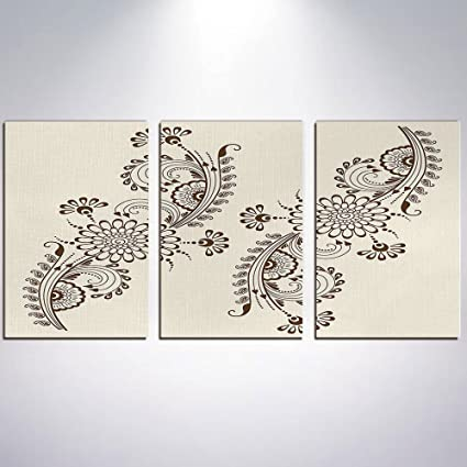 Amazon Com Canvas Prints Picture Henna Pictures Painting On