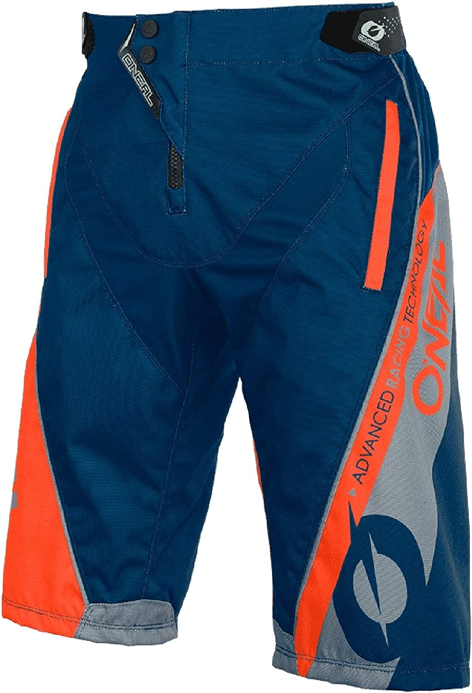 44 Gr/ö/ße 28 ONEAL Element Hybrid FR MX DH MTB Short Hose kurz blau//orange 2020 Oneal