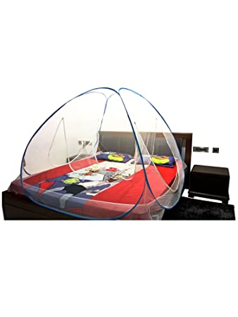 A-One Double Bed Mosquito Net with Stretchable Band