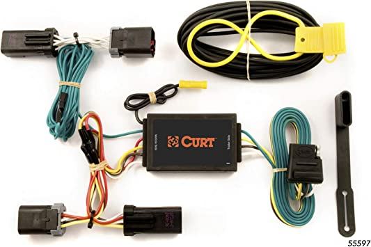 [SCHEMATICS_48EU]  Amazon.com: CURT 55597 Vehicle-Side Custom 4-Pin Trailer Wiring Harness for  Select Dodge Durango, Chrysler Aspen: Automotive | Dodge Durango Wiring Harness |  | Amazon.com