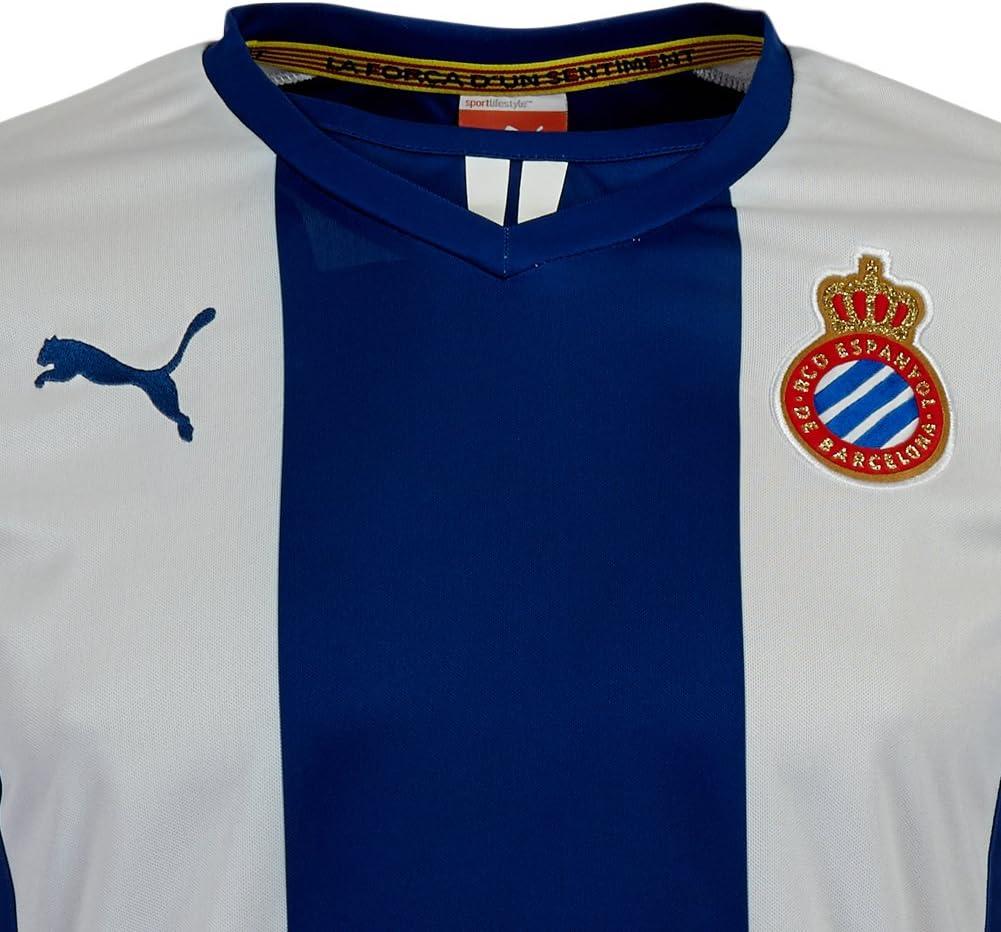 Puma RCD Espanyol Barcelona Camiseta 743865 – 01, Azul/Blanco ...