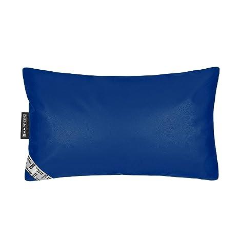 HAPPERS Cojin 50x30 Polipiel para Exterior Azul