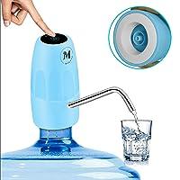 Moguat Dispensador Agua para Garrafas con Adaptador, Dosificador Eléctrico Automático Extraíble Recargable USB Botellas…