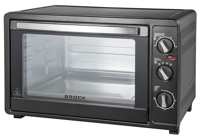 Brock Electronic TO-6001-B Horno Eléctrico Grande, 2200 W, 60 ...