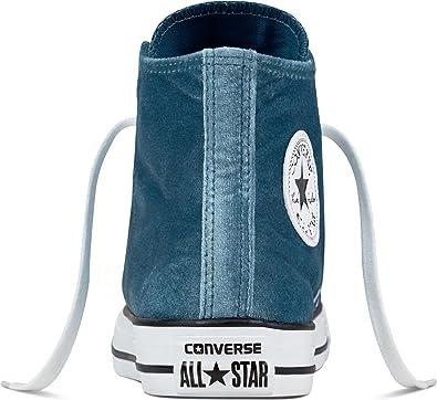 c49a96b46f187 Converse All Star Hi 557928C Femme Baskets Mode Sneaker Bleu 36 EU ...