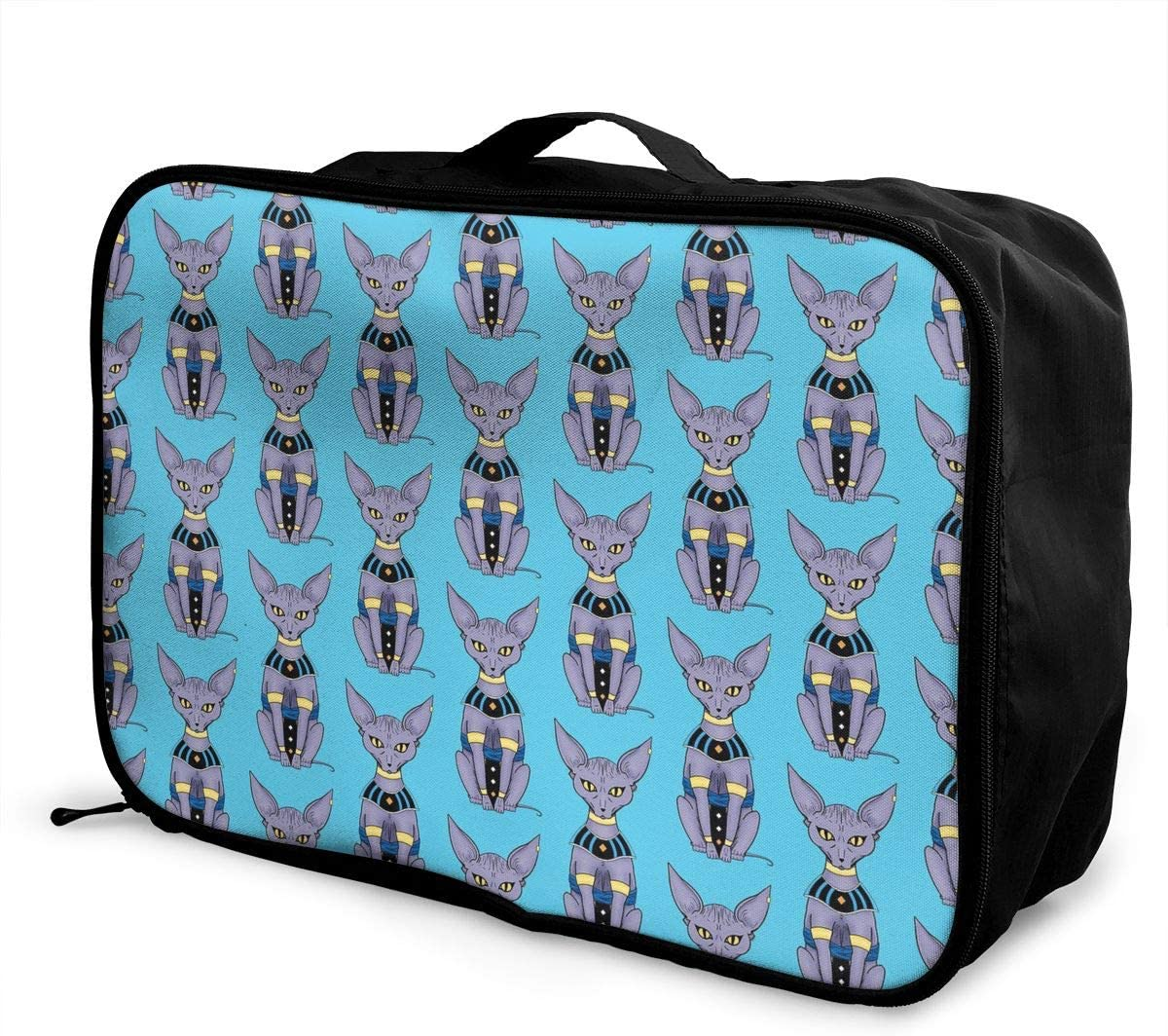 Plaid Bright Travel Carry-on Luggage Weekender Bag Overnight Tote Flight Duffel In Trolley Handle