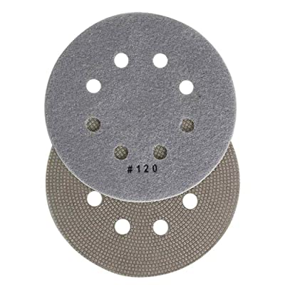 "Specialty Diamond BRTD6120 120 Grit 6"" Thin Electroplated Dry Pad for Orbital Sanders: Home Improvement"