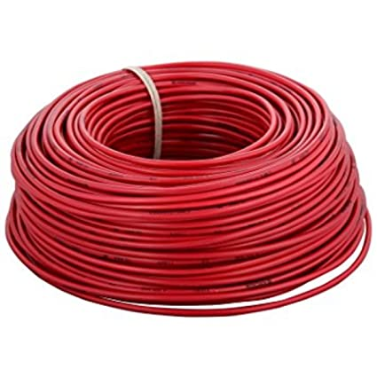 KL Cab 0.75 Sq.mm Wire 90mtr Coil (Red)