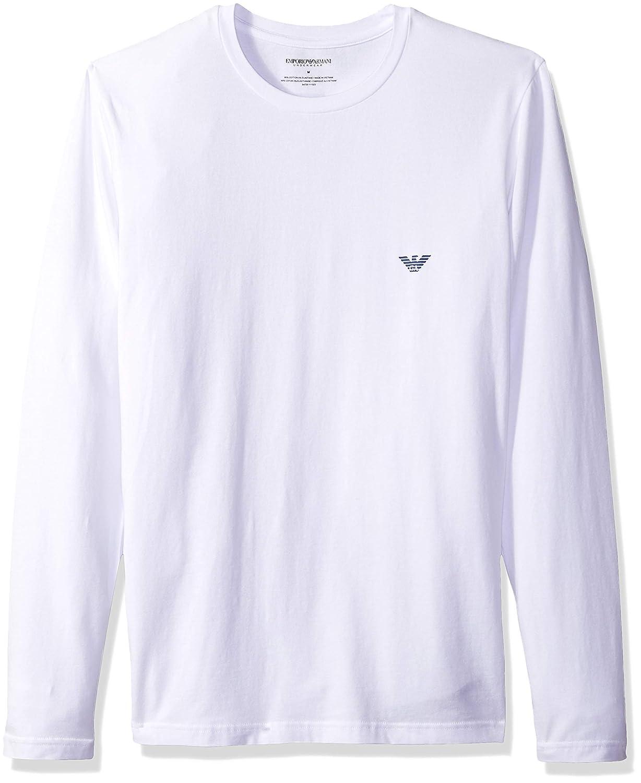 d3997878 Emporio Armani Men's The Big Eagle Long Sleeve Crew T-Shirt | Amazon.com