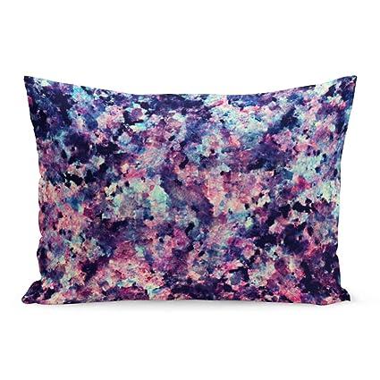 Enjoyable Aikul Throw Pillow Cover Stone Teal Pink And Black Granite Dailytribune Chair Design For Home Dailytribuneorg