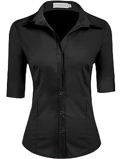 B/&C Oxford BLUSE Hemd Damen Bluse XS S M L XL XXL 3XL 4XL 5XL 6XL NEU TOP