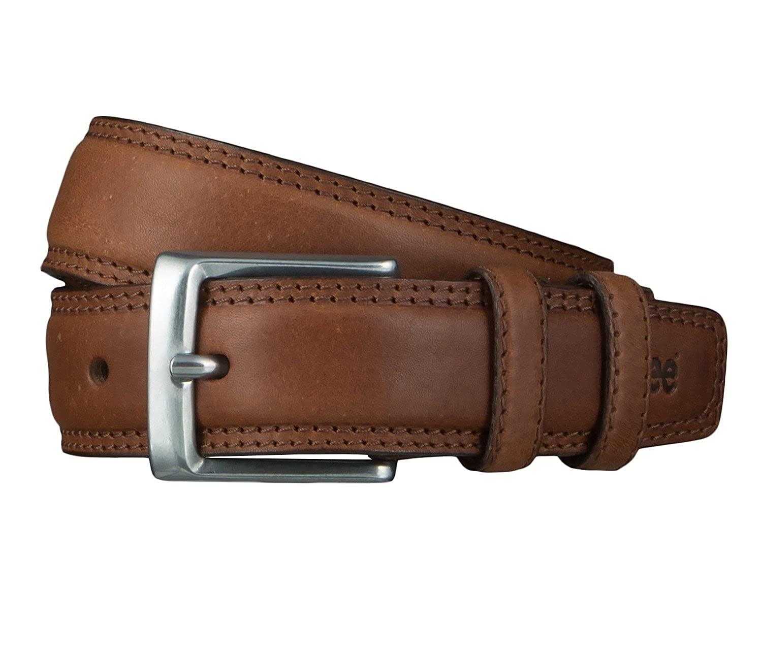 Lee Herren Gürtel Stitched Raised Belt Dark Brown