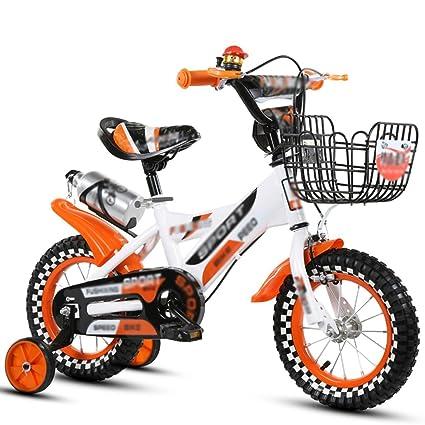 QQB &Carro Plegable Bicicleta para niños Bicicleta Carro para bebés Niño Chica Bebé Bicicleta (Color