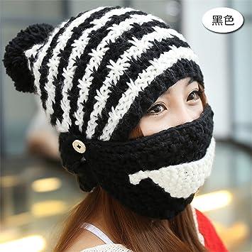 76b6665e7c09c2 Freundin Freund Urlaub Geschenke Frauen multifunktionalen Gap Kinder Winter  stricken wolle Gap reiten Block cap Maske