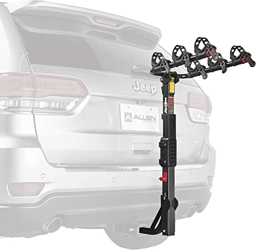 Allen Sports 3-Bike Hitch Racks for 1 1/4 in. and 2 in. Hitch