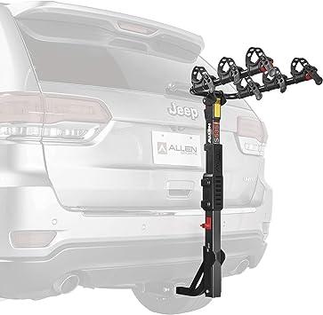"Allen Sports 1.25/"" /& 2/"" Receiver Premier 2 Hitch Mount Vehicle Bike Rack Carrier"