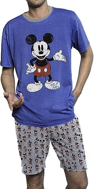 Disney Pijama Manga Corta Mickey Smart para Hombre