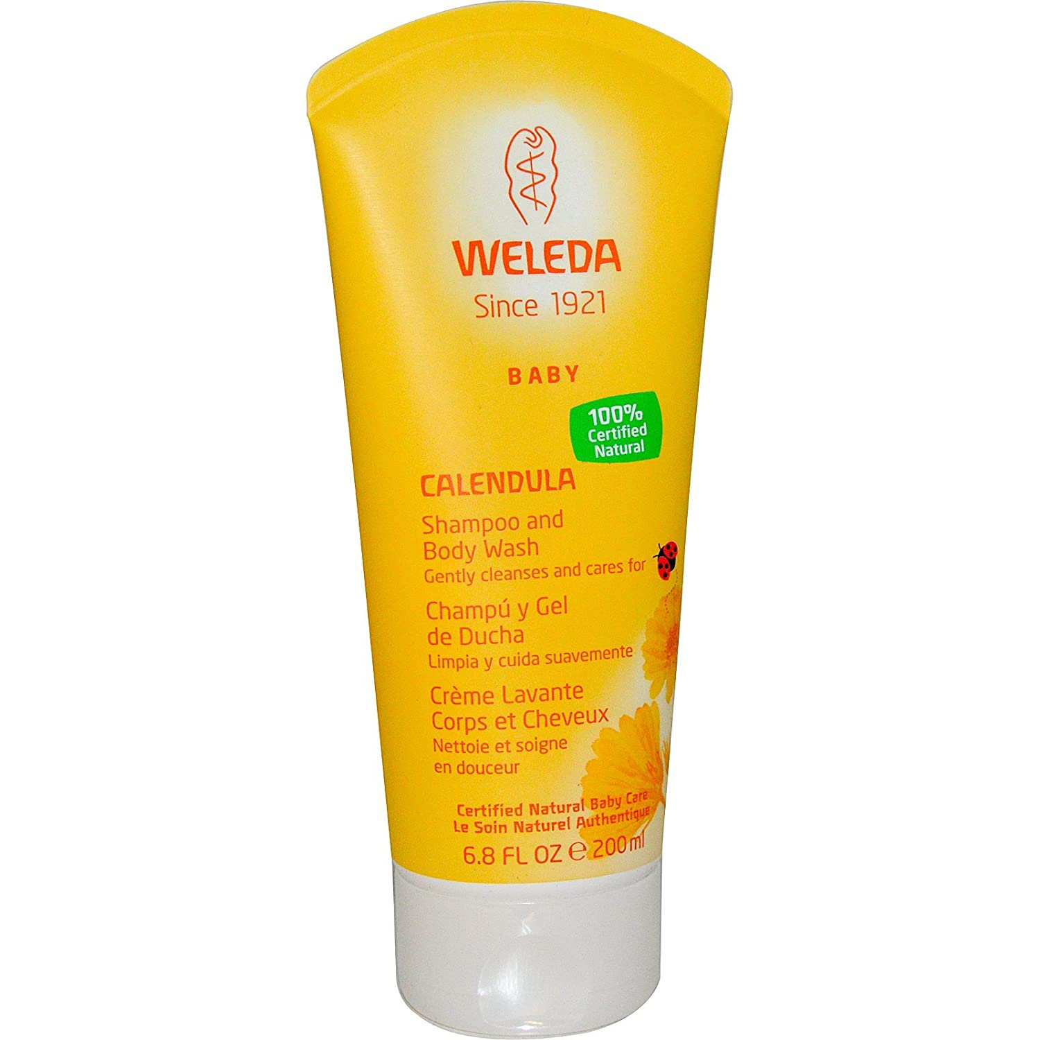 Weleda Baby + Kinder Shampoo Waschlotion Calendula , 200ml LUNAdeiCreativi 74985