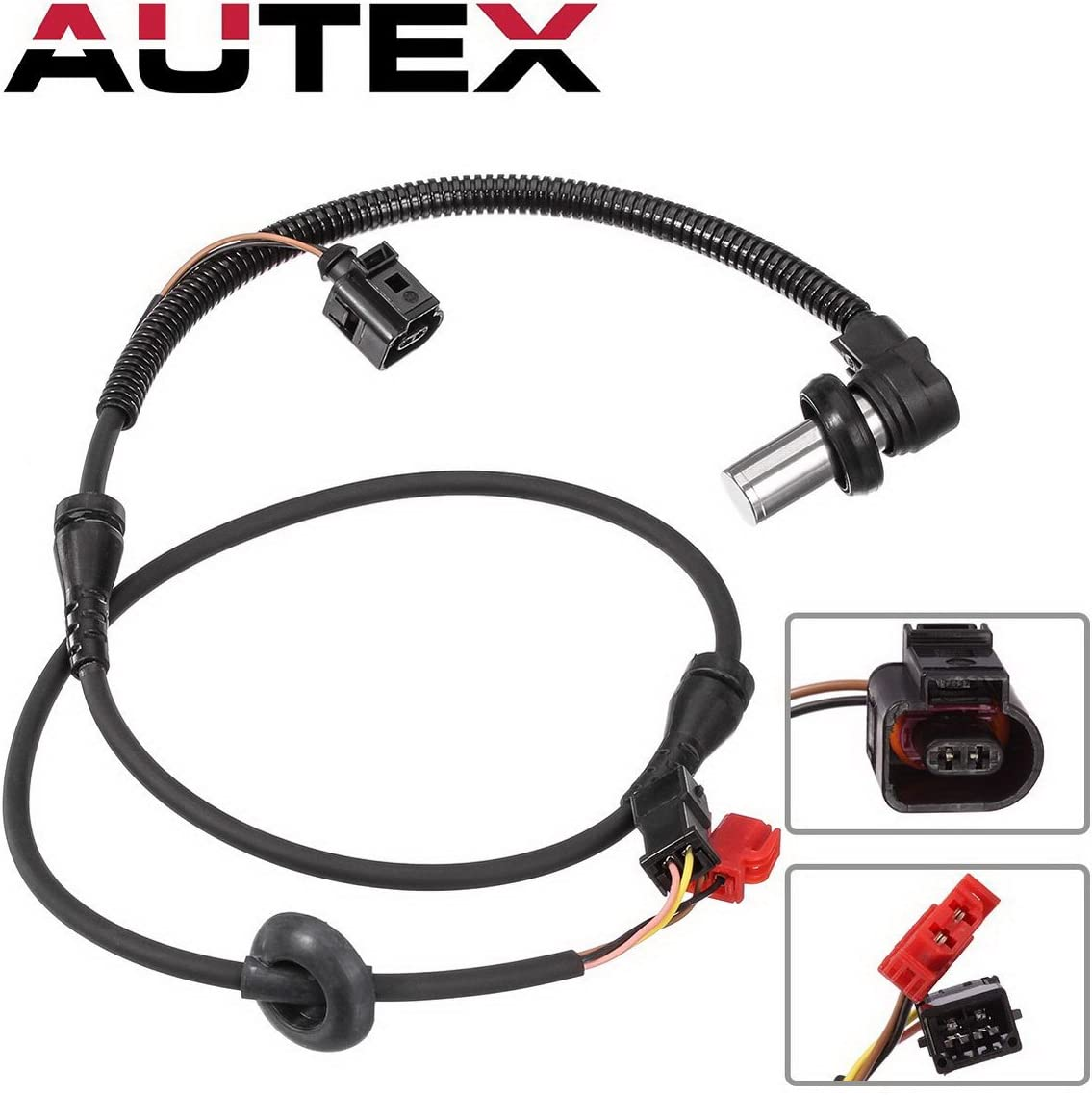 Pair Front ABS Wheel Speed Sensor ALS537 For 2002 Audi A4 Quattro S4 A4