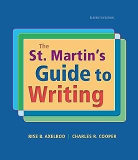 The New St. Martins Handbook