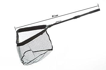 Honoreal teleskop kescher aluminium unterfangkescher faltbar